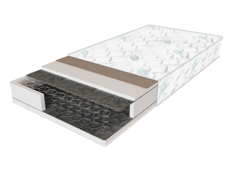 Ортопедический матрас Sleep&Fly Standart Рlus 1500х1900