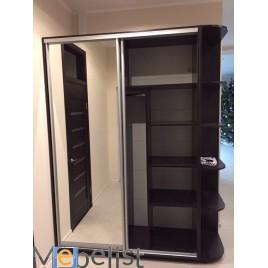 Двухдверный шкаф купе Стандарт 130*45*220 см
