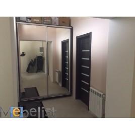 Двухдверный шкаф купе Стандарт 130*60*220 см