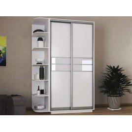 Двухдверный шкаф-купе Практик 11 110х60х240 см