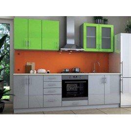 Кухня Гламур 4 плівка МДФ