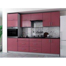 Кухня Софт 2 краска МДФ