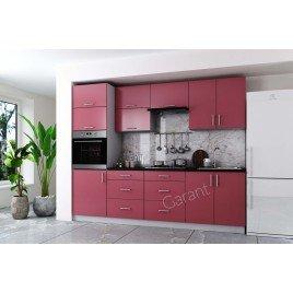 Кухня прямая Софт2 краска МДФ