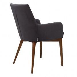 Кресло велюр BRIGHTON (серый графит)