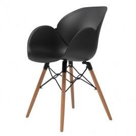 Кресло пластиковое FRIEND (черный)