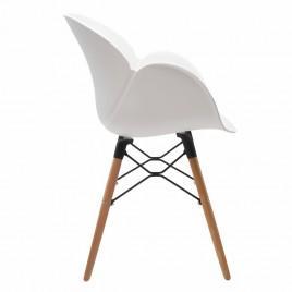 Кресло пластиковое FRIEND (белый)
