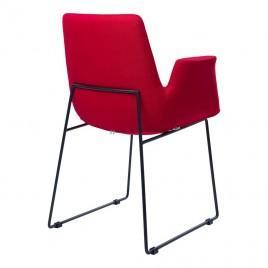 Кресло мягкое OSTIN (красный)