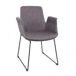 Кресло мягкое OSTIN (серый)