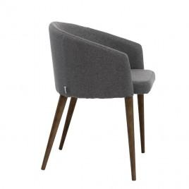 Кресло из ткани POINT (серый)