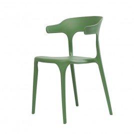 Cтул пластиковый LUCKY (зеленая мята )