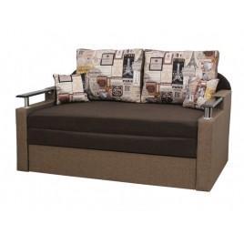 Прямой диван Блюз Brown (ткань 1)