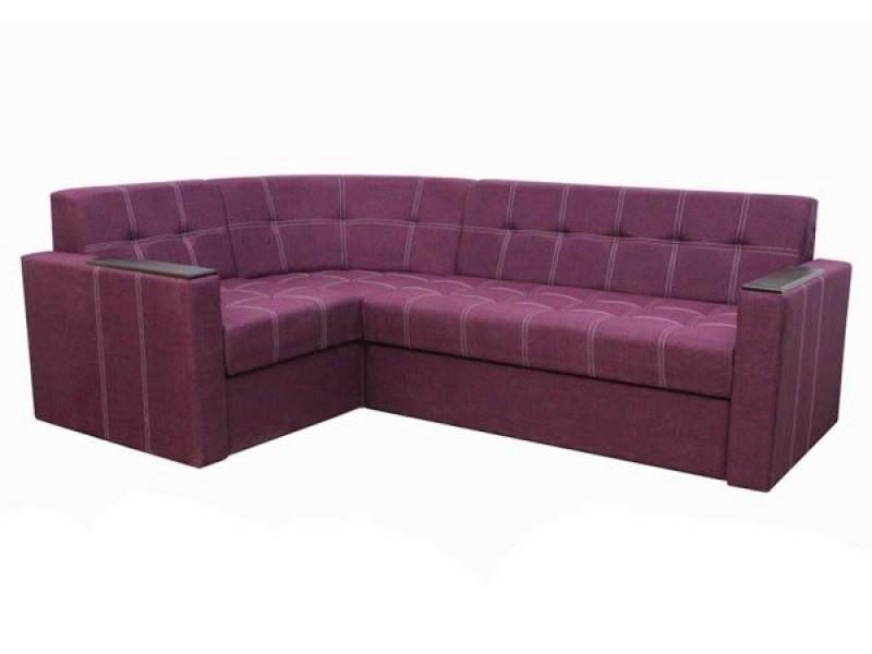Угловой диван Элегант 2 Фиолетовый