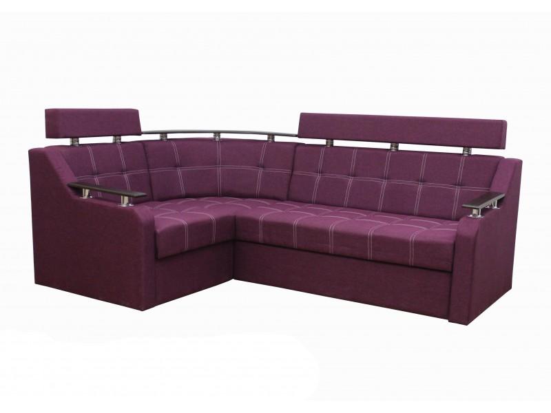 Угловой диван Элегант 3 Фиолетовый