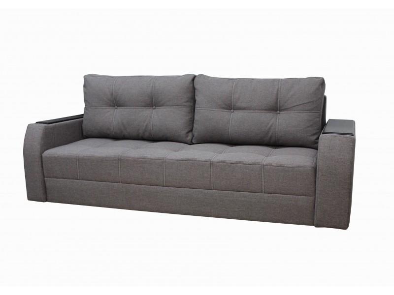 "Прямой диван Барон ткань ""Savana Capuchino"""