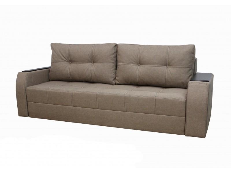 "Прямой диван ткань ""Savana Caramel"""
