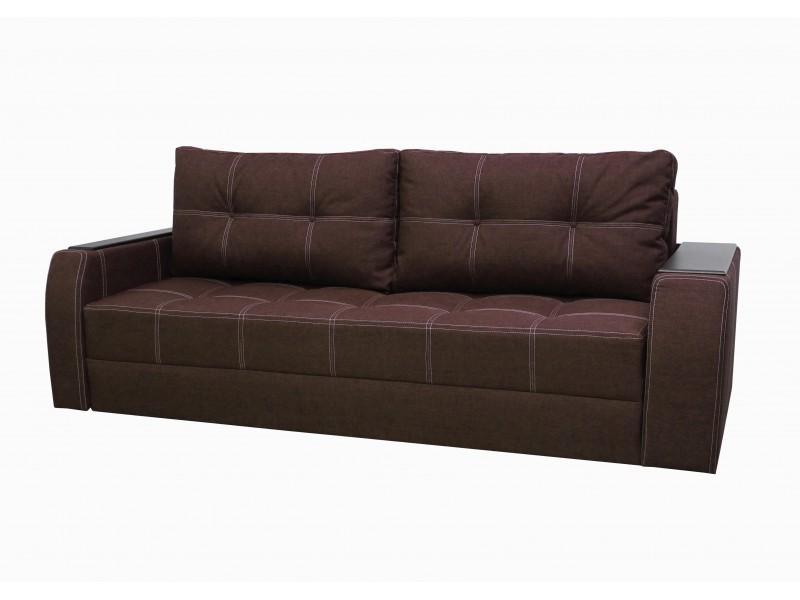 """Прямой диван Барон ткань """"Savana Brown"""""""