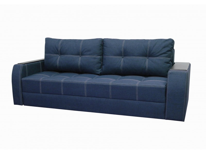 "Прямой диван Барон ткань ""Savana Jeans"""
