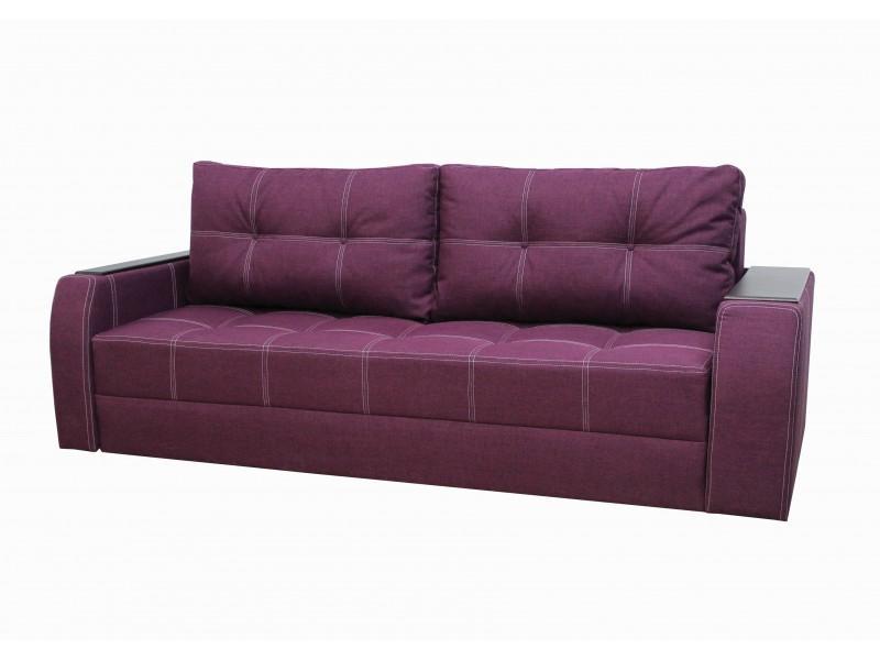 Прямой диван Барон Фиолетовый