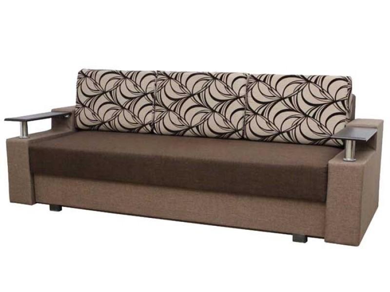 "Прямой диван Еврокнижка ткань ""64"""