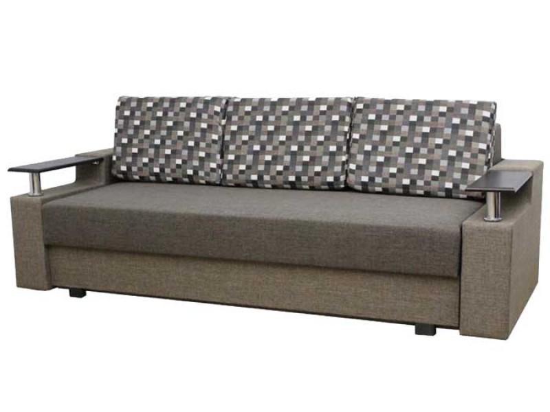 "Прямой диван Еврокнижка ткань ""66"""