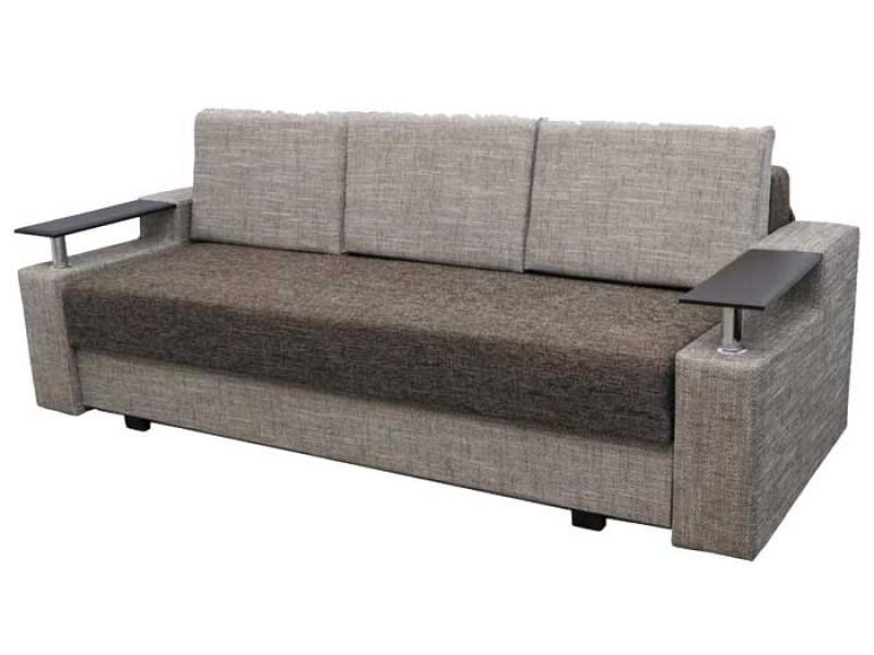 """Прямой диван Еврокнижка ткань """"Берлин 3+4"""""""