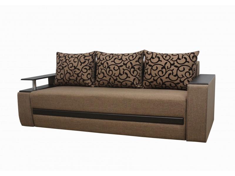 Прямой диван Граф ткань 1