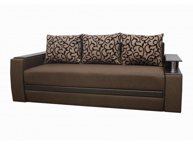 Прямой диван Граф ткань 4