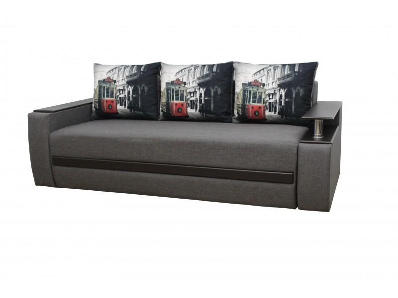 Прямой диван Граф ткань 8