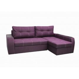 Угловой диван Барон Фиолетовый