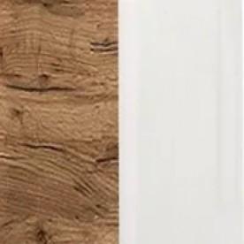Дуб Крафт \ белый глянец