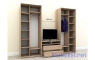 Шкаф-купе под телевизор ШКTv6 (305x60x240 см.)