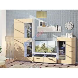 Шкаф с витриной Хай-тек Ф-706