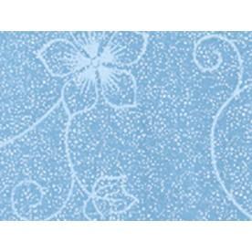 Голубой с цветком перламутр глянец +526 грн.
