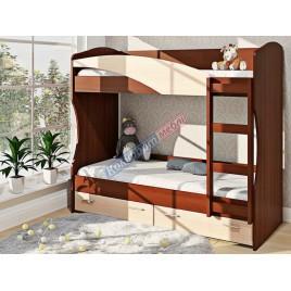Кровать двухярусная К-114