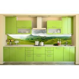 "Кухня прямая ""Green tea"""
