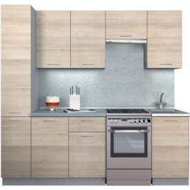 Кухня прямая фасады ДСП 2