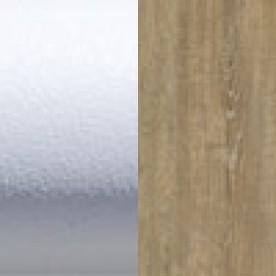 Белый бархат/Дуб античный u+4%
