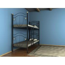 Металлическая кровать Диана двухъярусная