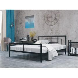 Металлическая кровать Квадро