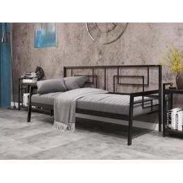 Металлическая кровать-диван Квадро