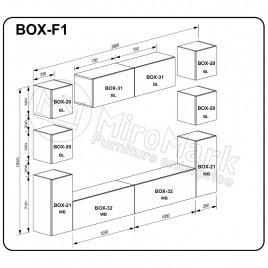 Вітальня BOX F1