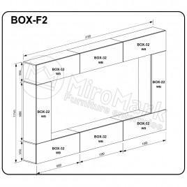 Вітальня BOX F2