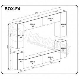 Вітальня BOX F4