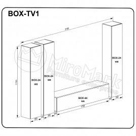 Вітальня BOX TV1