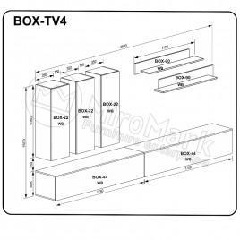 Вітальня BOX TV4