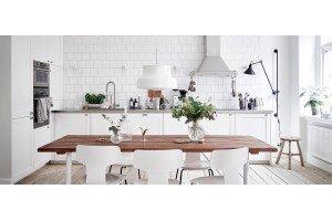 Біла кухня. Який матеріал вибрати?