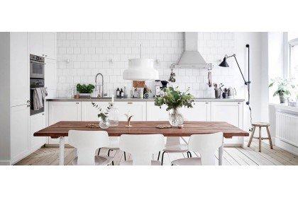Белая кухня. Какой материал выбрать?
