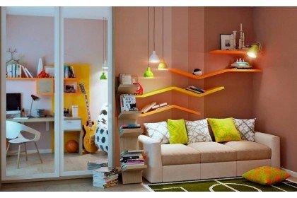 Что выбрать для детской комнаты – диван или кровать?