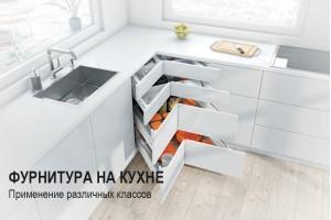 Применение фурнитуры различных классов влияет на качество и комфортность использования мебели