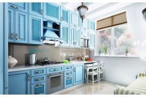 5 недорогих кухонь, которые выглядят шикарно из-за цвета